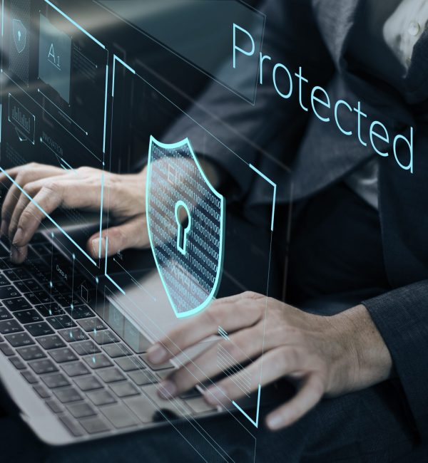 Data,Security,System,Shield,Protection,Verification