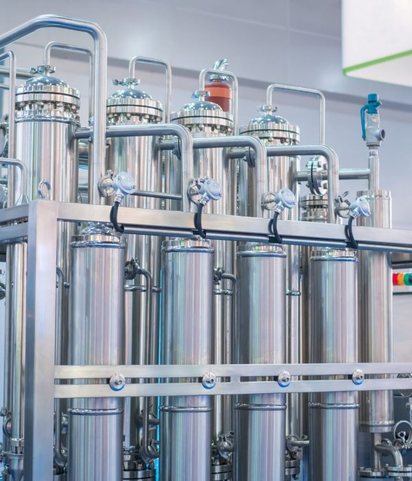 Pharmaceutical,Automatic,Production,Equipment,At,Modern,Pharmacy,Factory,Or,Exhibition.